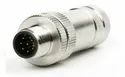 M12 8Pin Male Connector