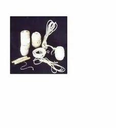 White Cotton Twines
