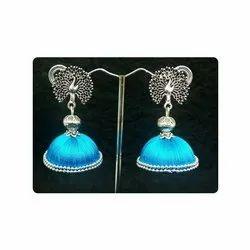779d38424 Silk Thread Earrings in Chennai, Tamil Nadu | Silk Thread Earrings ...