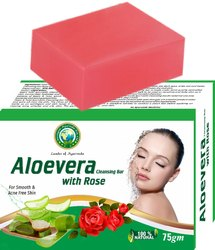 Aloevera with Rose Cleansing Bar
