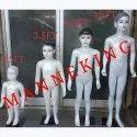 Baby Girl Fibre Mannequins