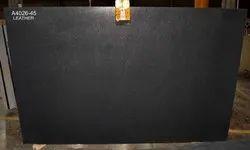 Black Granite Leather Finish Granite