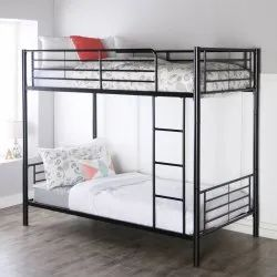 Shivam Seating Systems 6ftx2.5ft Metal Bunk Bed, Double Bed