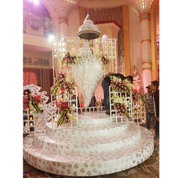 Decorative Wedding Revolving  palki