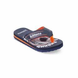 Kids Orange Flip Flops