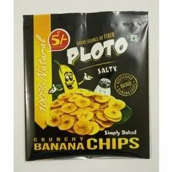 Banana Chips Packaging Plastic Pouch