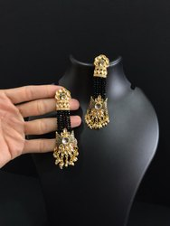 Golden Tinsel Earrings