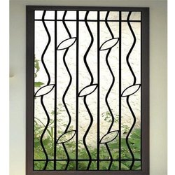 Designer Stainless Steel Window Grill, Material Grade: SS 304