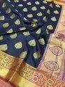 Pure Handloom Banarasi Katan Silk Sarees