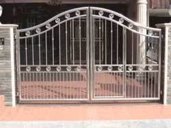 Exterior Stainless Steel SS Gate grill