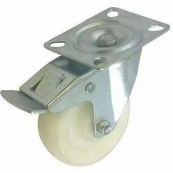 Nylon Brake Caster Wheel, Size: 3 Inch