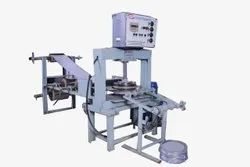 Automatic Hydraulic Thali Making Machine Vertical