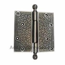 103mm x 114mm Brass Decorative Hinge