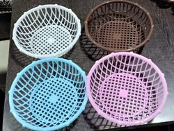 Round Plastic Fruit Basket