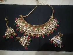 Beaded Wedding Party Wear Necklace