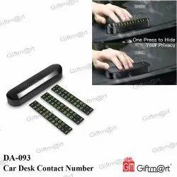 DA-093 Car Desk Contact Number