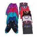 Cotton Kids Tops & Tees Kids Sleeveless Dress Set, Age: 6-12 Year