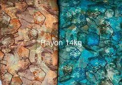 Rayon print Febric 14kg