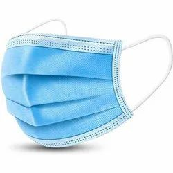 3 Ply Blue Disposable Surgical Face Mask