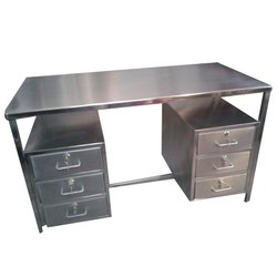 6 Drawer SS Table