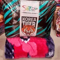 Shital Korean Tiger Mink Blanket