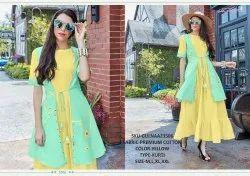 Rachna Premium Cotton Pattern Cut Work Gulnaz Catalog Kurti For Women 6