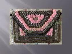 Fabric Handbag & Purse