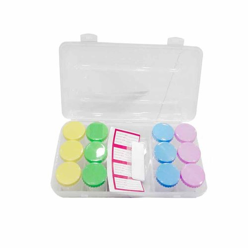 Pill box-Pill-02-12 Grids Transparent Plastic Pill Storage Box with Removable Storing Various Items.