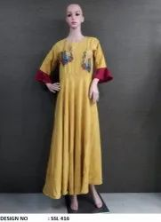 Formal Rayon Gown