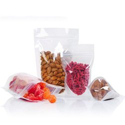 Standy Pouches 250 Grams Both Side Transparent 8.5X5 Inch