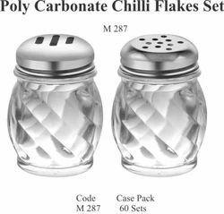 Polycarbonate Chilli Flakes Set