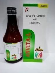 Syrup of B-Complex with L-Lysine HCL
