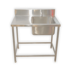 SS Single Sink Unit with Table