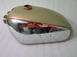 BSA Golden Flash A10 Plunger Model Golden Painted Chrome Petrol Tank
