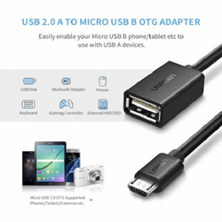 UGreen 10396 Micro USB 2.0 OTG Cable