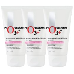 O3 Brightening & Whitening Face Wash - Pack of 3 Face Wash