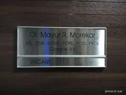 Name Plates At Best Price In India