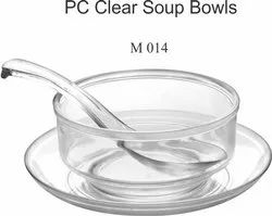 Polycarbonate Clear Soup Bowls