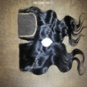 Raw Indian Unprocessed Virgin Raw Human Hair Lace Closure
