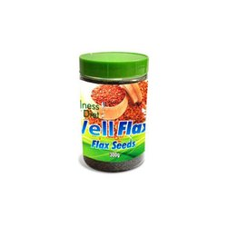 Plastic Jar Natural Flax Seed, Pack Size: 300 Gm