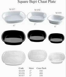 Square Bajri Chaat Plate
