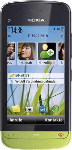 Refurbished Nokia C5-03 Mobile, Screen Size: 3.2 Inches, Memory Size: 128 Ram