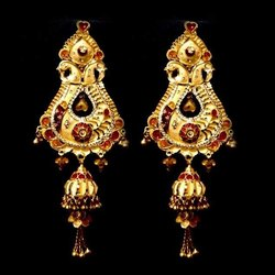 GOld Jhumka Design
