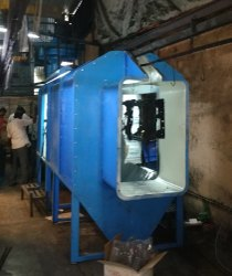 SCE Spray Booth Powder Coating Booths, Fully Undershot Type, Automation Grade: Manual