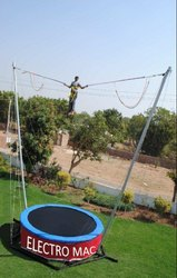 Bungee Trampoline Jump (With Timer Counter)