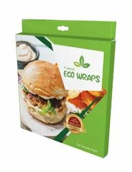 Premium Eco Wraps Food Wrapping Paper - 100 Sheets Pack