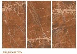 Brown High Gloss Floor Tile