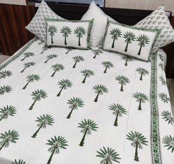 Block Printed Cotton Bedsheets