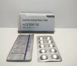 Aceclofenac 200 Mg SR Tablet