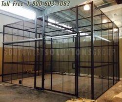 Wire Mesh Cage- Storage  Partition